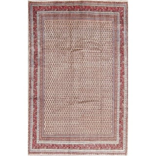 "Botemir All-Over Hand-Knotted Wool Persian Oriental Area Rug - 9'7"" x 6'3"""