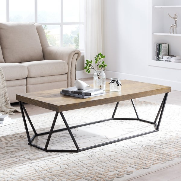 Strick & Bolton Calanne Contemporary Cocktail Table