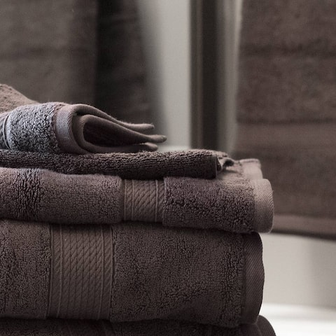 Kotter Home 6-Piece Egyptian Cotton Bath Towel Set