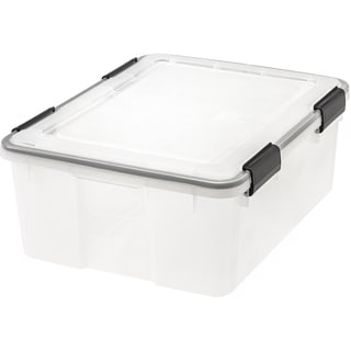 Link to IRIS 30 Quart WEATHERTIGHT® Storage Box Similar Items in Filing Storage & Accessories