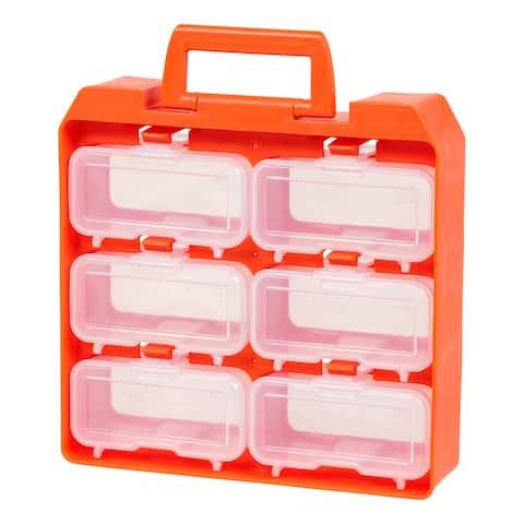 IRIS 6 Compartment Utility Case, Orange