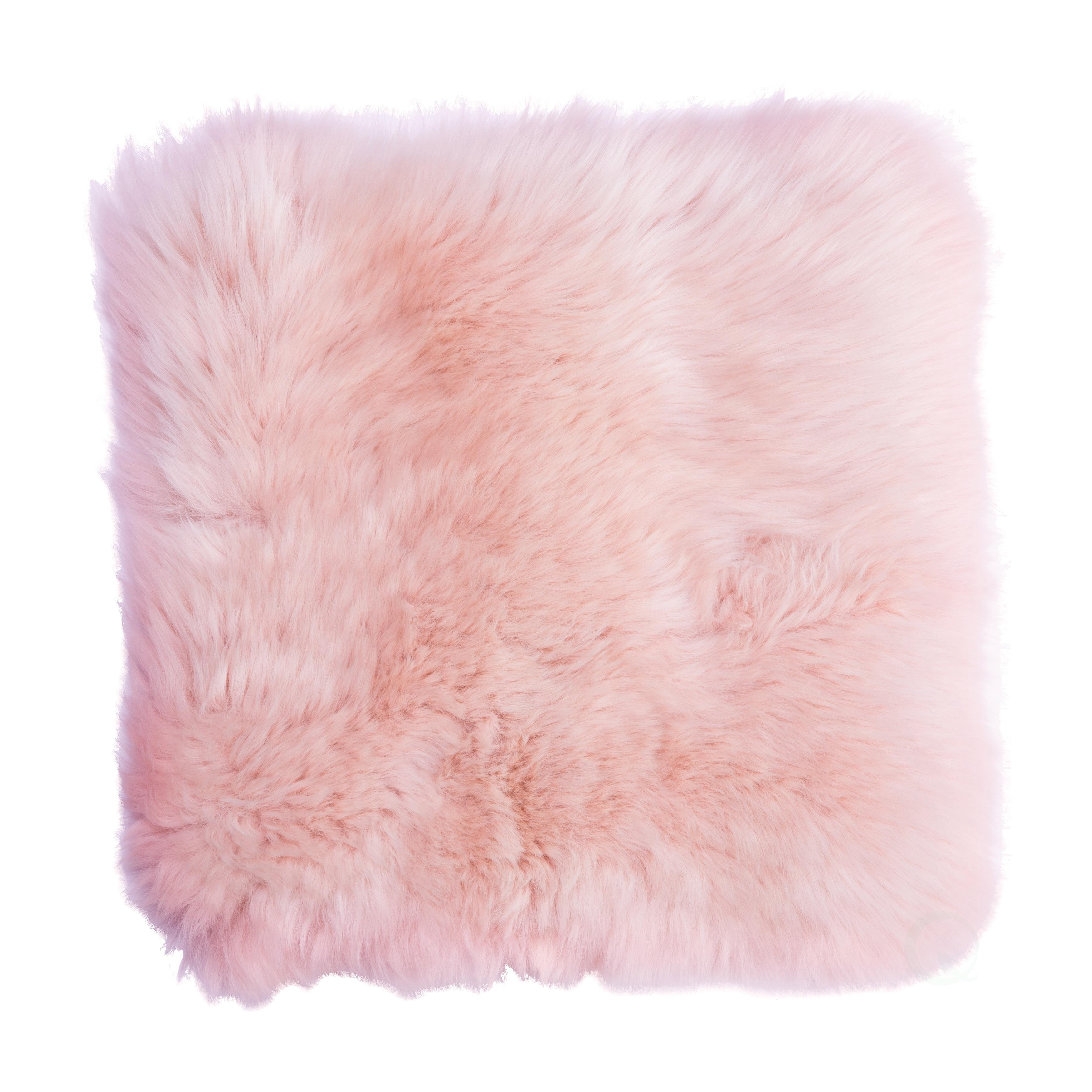 Genuine Australian Lamb Wool Sheepskin Square Pillow Cover 16 In Overstock 27989243