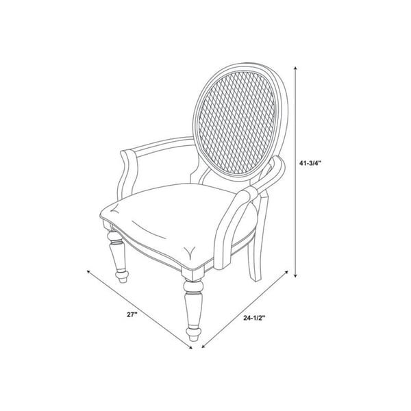 """Fraley Accent Chair - 26.63""""w x 23.75""""d x 41.25""""h"""