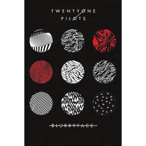 Twenty One Pilots - Blurryface 2015 Album 36x24 Music Band Art Print Poster