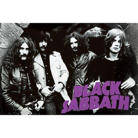 Black Sabbath Group 36x24 Music Group Art Print Poster