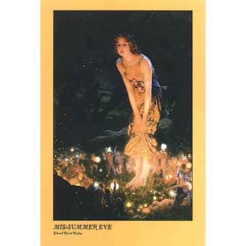 Midsummer Eve by Edward Robert Hughes 36x24 Museum Art Print Poster