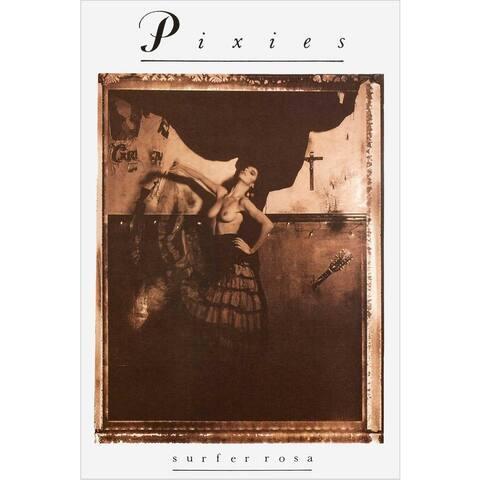 Pixies - Surfer Rosa 1988 Album 36x24 Music Band Art Print Poster