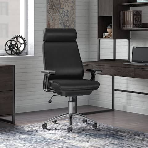Atria High Back Leather Executive Chair from Office by kathy ireland?