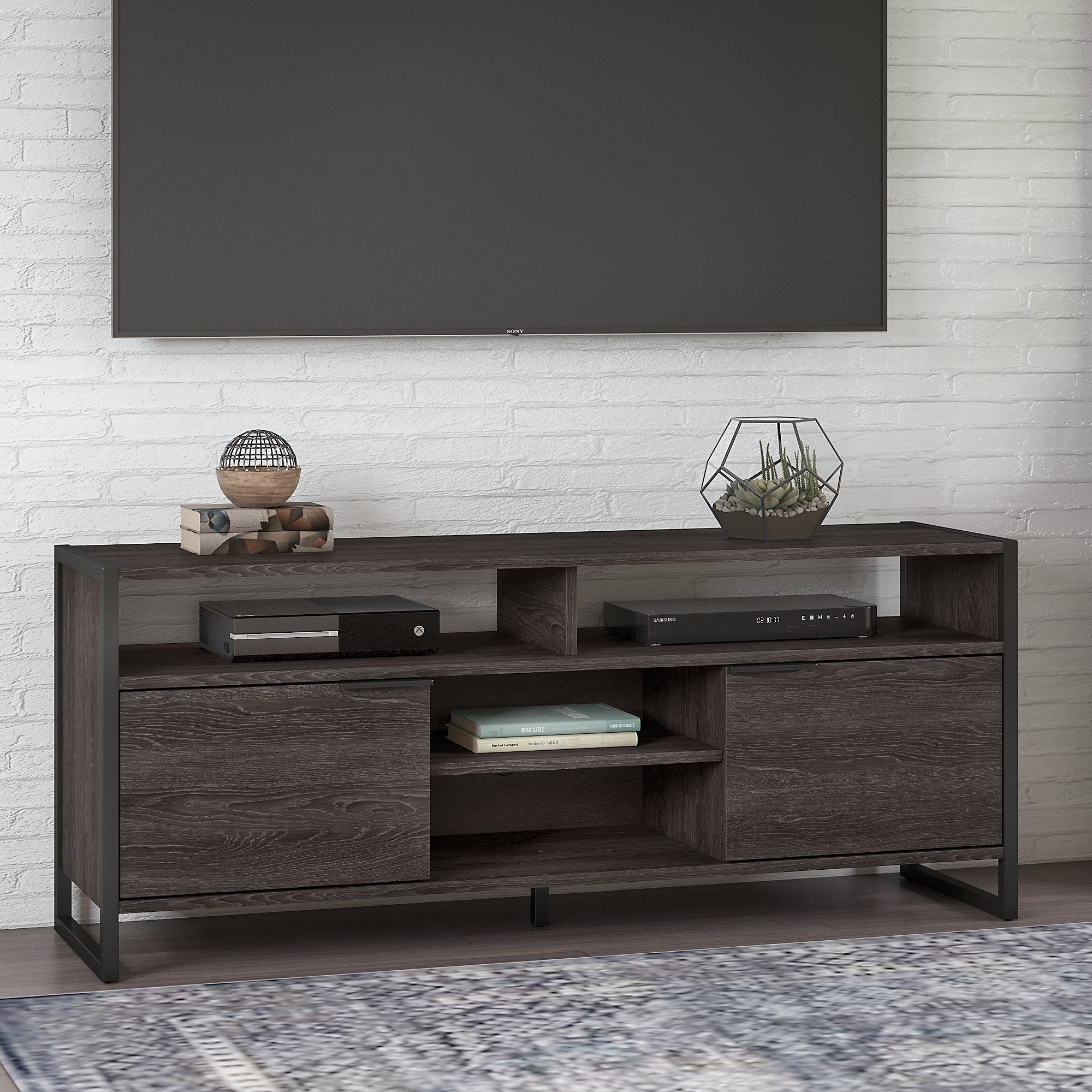 kathy ireland Atria TV Stand for 70 Inch TV