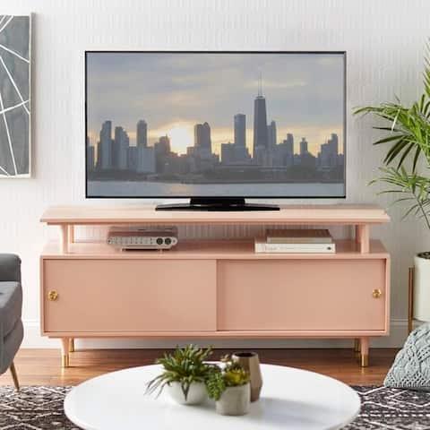 Simple Living Margo Mid-century Wood TV Stand