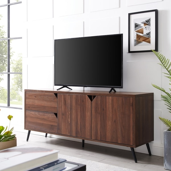 "Carson Carrington 60"" Mid-century TV Console - 60 x 16 x 25H"