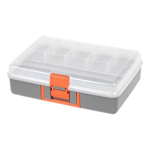 IRIS Medium Utility Case, 2 Pack, Gray