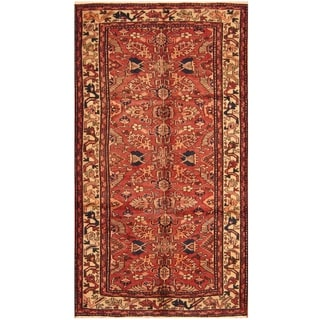 Handmade One-of-a-Kind Heriz Wool Rug (Iran) - 5'3 x 9'7