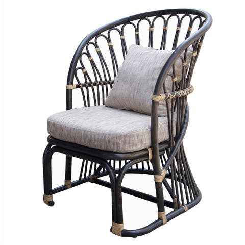 Meredith Rattan Accent Chair