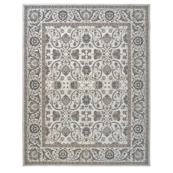 "Majestic Croft Ivory Area Rug (6'6"" x 9'6"") by Gertmenian"