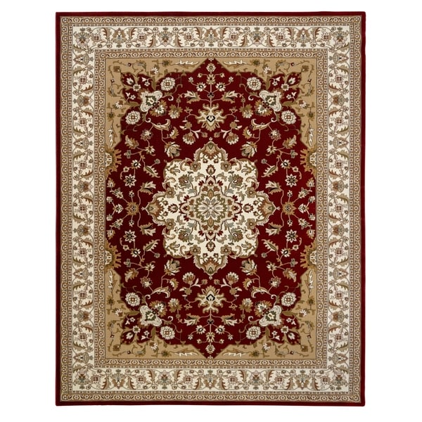"Majestic Chilton Red Area Rug (5'3"" x 7'52) by Gertmenian"