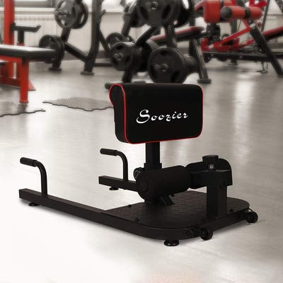 Soozier Multifunctional Abs Glutes Quads Training Workout Exercise Machine - Black