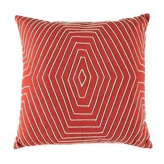 Madeleine Home - Watson Terra Cota Throw Pillow