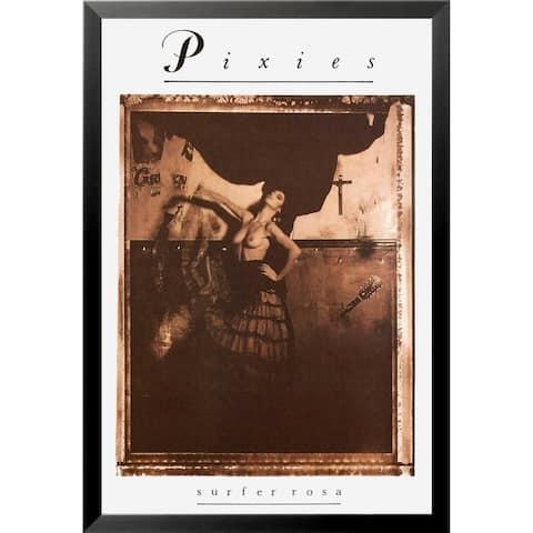 FRAMED Pixies - Surfer Rosa 1988 Album 36x24 Music Band Art Print Poster - 36 x 24