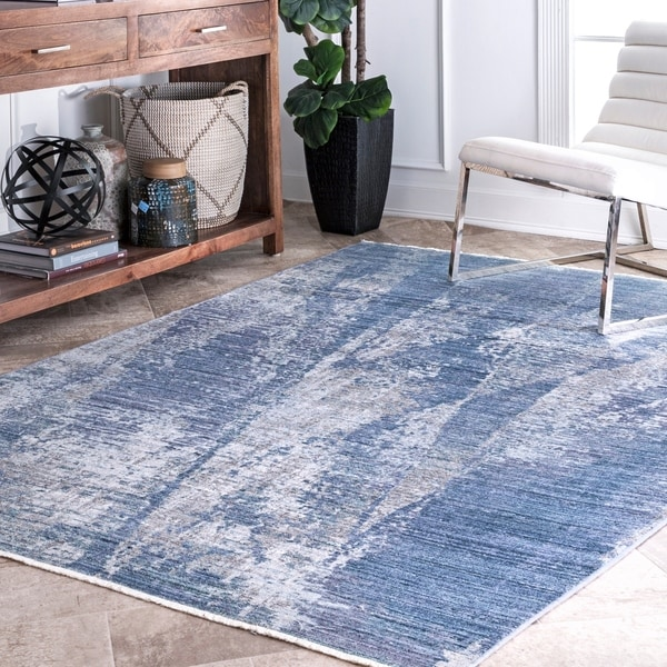 nuLOOM Contemporary Modern Abstract Samara Area Rug