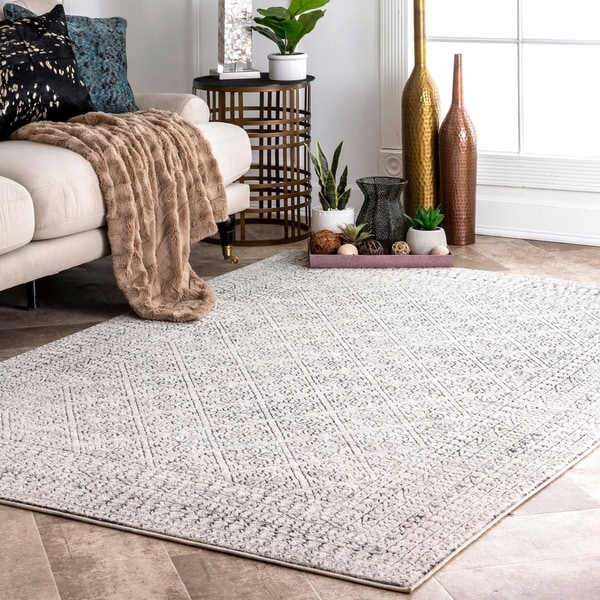 Porch & Den Landon Tribal Tiled Area Rug