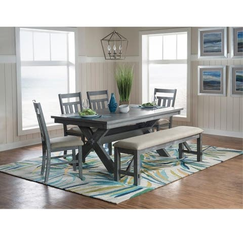 Chester Rectangle 6pc Dining Set