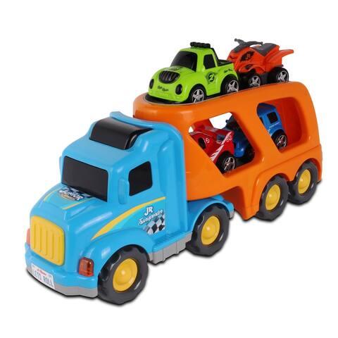 NKOK Junior Racers Jr. Transporter & 4 Vehicles