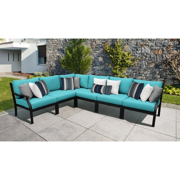 Shop Kathy Ireland Madison Ave 6 Piece Outdoor Aluminum