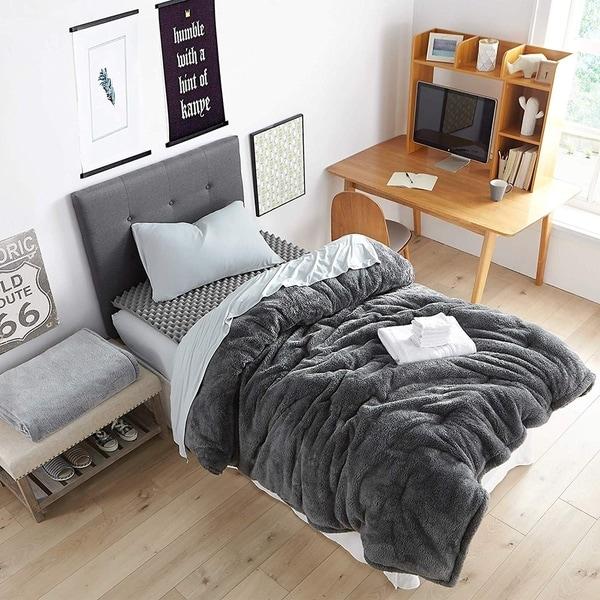 Shop Porch Amp Den Harwell Charcoal Twin Xl Essential Dorm