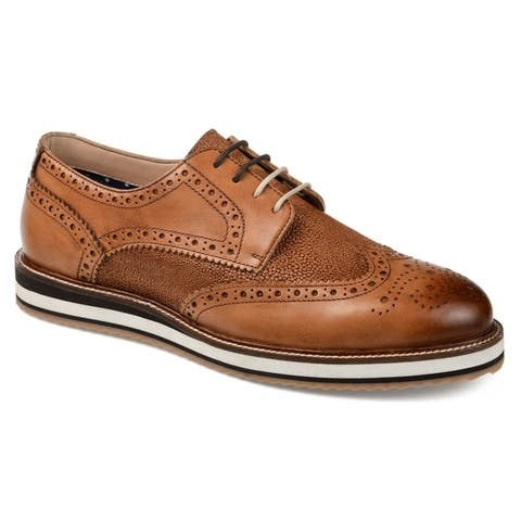 Thomas & Vine Men's Conrad Wingtip Derby
