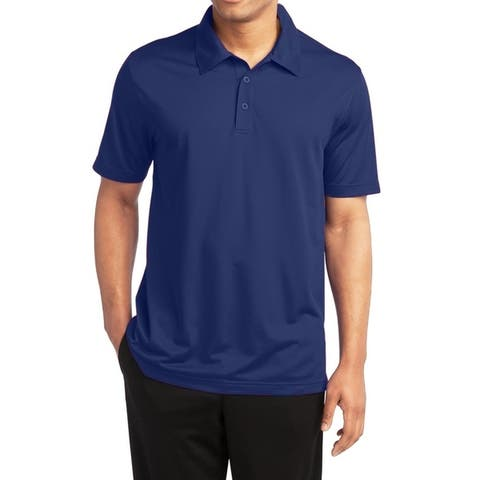 Galaxy by Harvic Men's Dry Fit Moisture-Wicking Polo Shirt