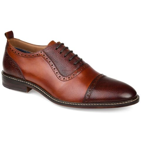 Thomas & Vine Men's Lincoln Cap Toe Oxford