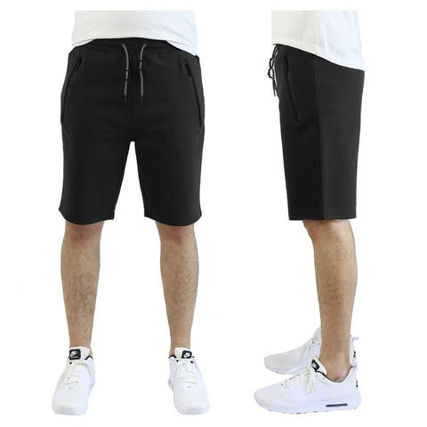 Men's Tech Fleece Shorts With Zipper Pockets