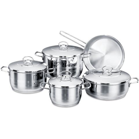 Korkmaz Astra High-End Stainless Steel Cookware Set