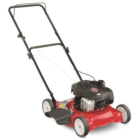 MTD YardMachine 20 in. W 125 cc Manual-Push Lawn Mower