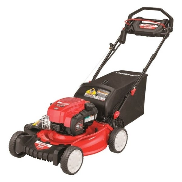 Shop Troy Bilt 21 In W 163 Cc Self Propelled Lawn Mower