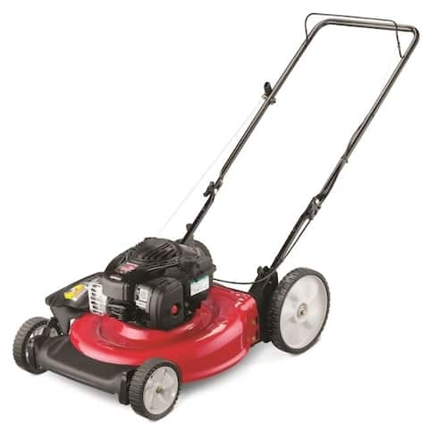 YardMachines 21 in. W 140 cc Manual-Push Lawn Mower