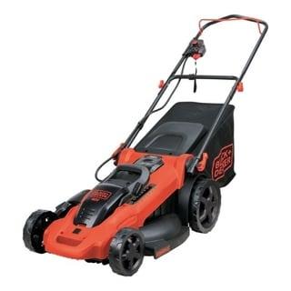 Black and Decker  20 in. W Manual-Push Lawn Mower