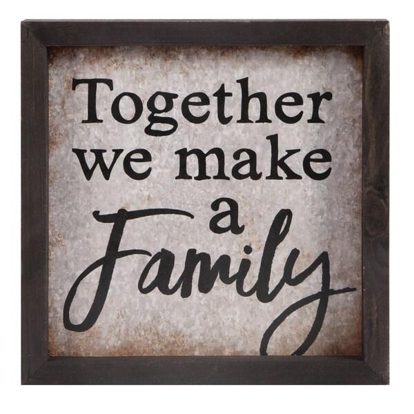 Together We Make A Family Framed Art