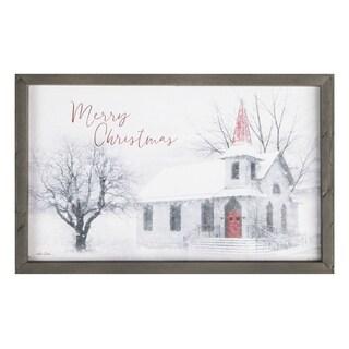 Merry Christmas Framed Art