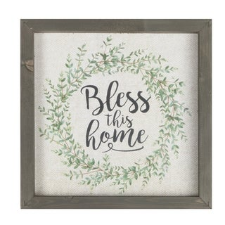 Bless This Home Framed Art
