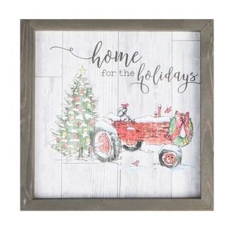 Home For The Holidays Framed Art
