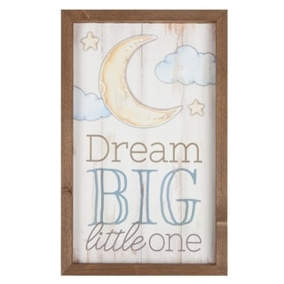 Dream Big Little One Framed Art