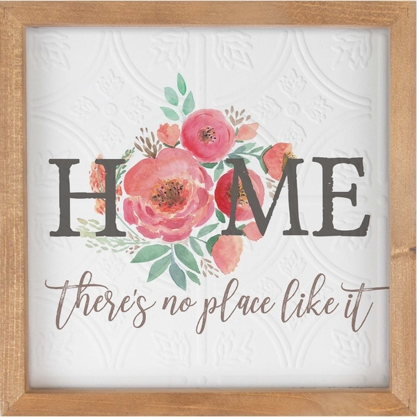 Home There's No Place Like It Framed Art
