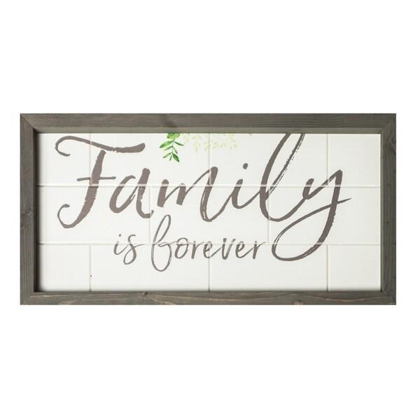 Family Is Forever Framed Art