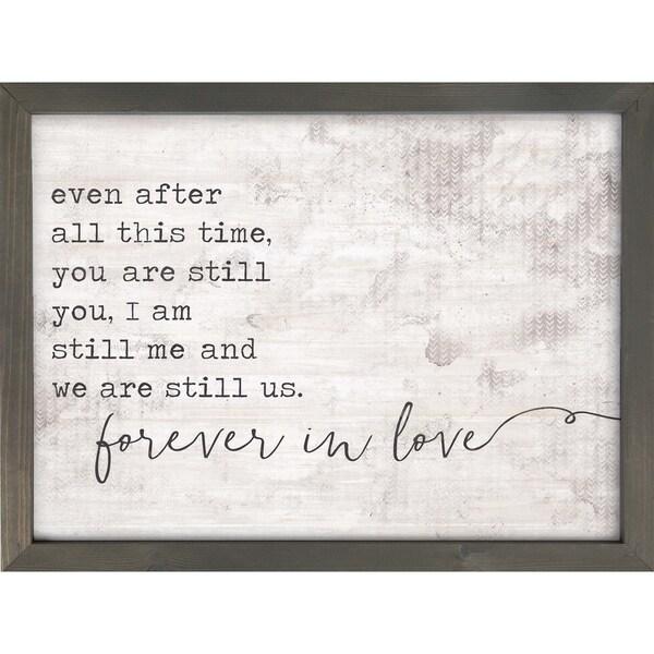 Forever In Love Framed Art