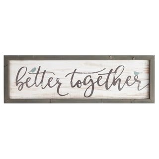 Better Together Framed Art