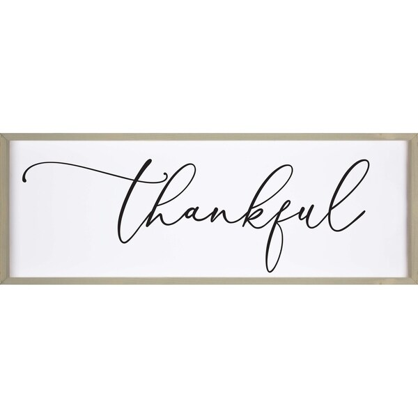 Thankful Framed Art