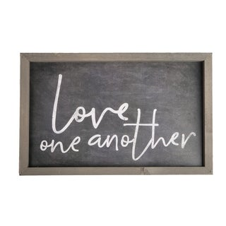 Love One Another Framed Art
