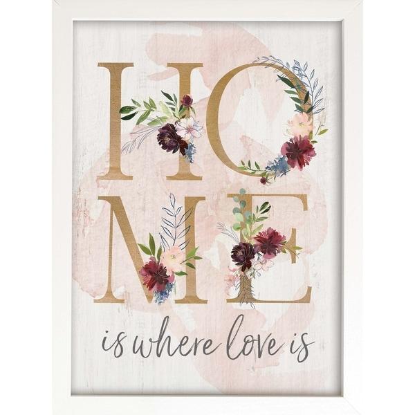 Home Is Where Love Is Framed Art